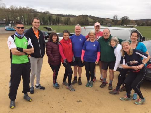 Team pic 19th Feb 2017 at Wooburn
